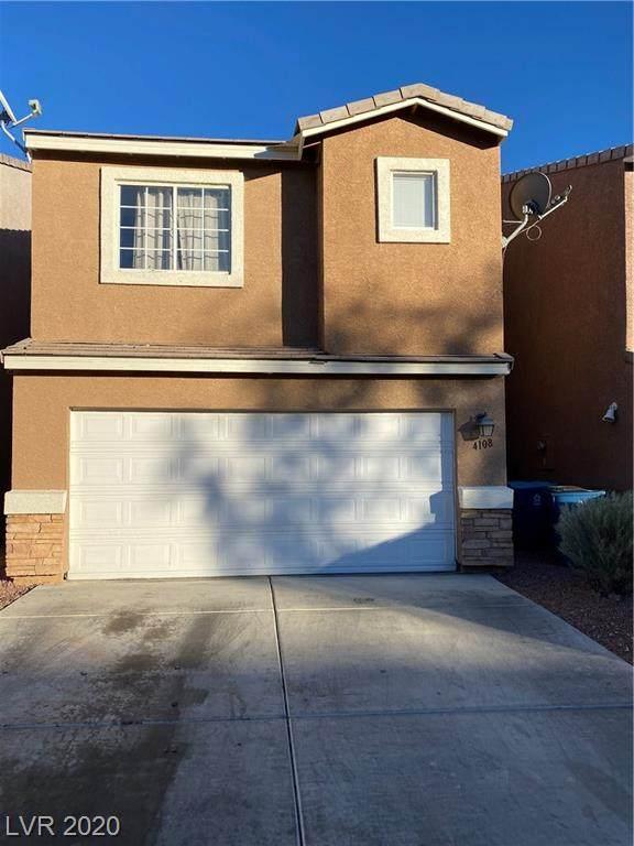 4108 Rocky Beach Drive, Las Vegas, NV 89115 (MLS #2254708) :: Jeffrey Sabel