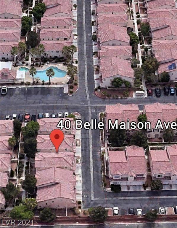 40 Belle Maison Avenue, Las Vegas, NV 89123 (MLS #2256234) :: The Mark Wiley Group | Keller Williams Realty SW