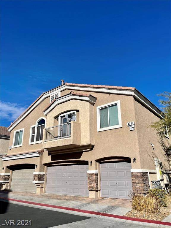 4730 Double Down Drive #102, Las Vegas, NV 89122 (MLS #2260082) :: Signature Real Estate Group