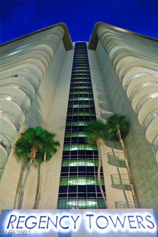 3111 Bel Air Drive 12A, Las Vegas, NV 89109 (MLS #2266166) :: Signature Real Estate Group