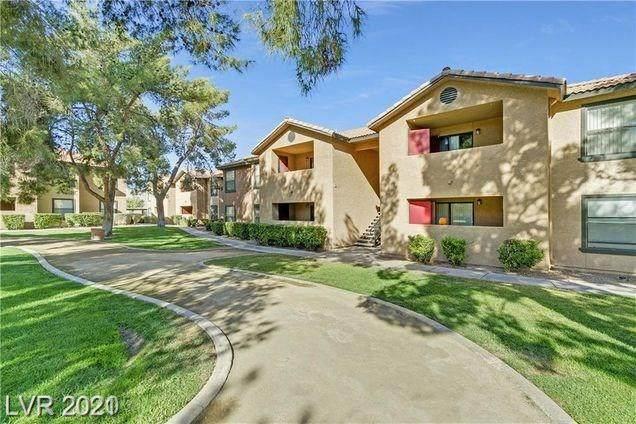 2451 Rainbow Boulevard #1007, Las Vegas, NV 89108 (MLS #2269161) :: Billy OKeefe | Berkshire Hathaway HomeServices