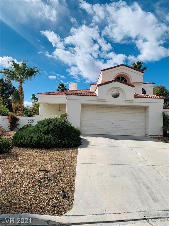 223 Drysdale Circle, Henderson, NV 89074 (MLS #2271009) :: Vestuto Realty Group