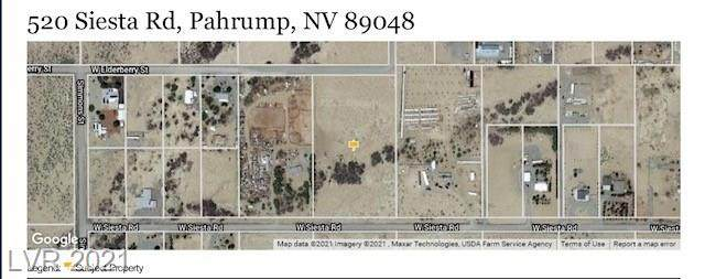 520 W Siesta Road, Pahrump, NV 89048 (MLS #2272881) :: Signature Real Estate Group