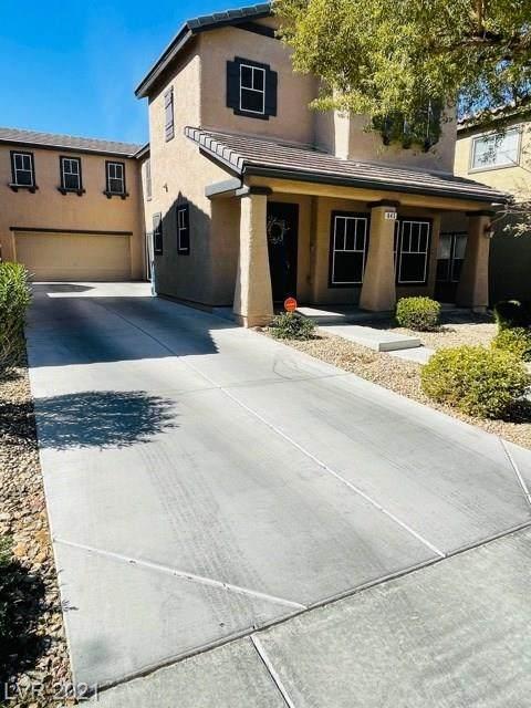 645 Desert Passage Street, Henderson, NV 89002 (MLS #2273522) :: Jeffrey Sabel