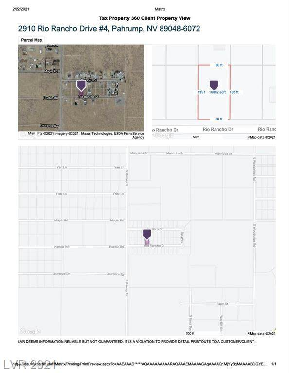 2910 W Rio Rancho Drive #4, Pahrump, NV 89048 (MLS #2273664) :: Lindstrom Radcliffe Group