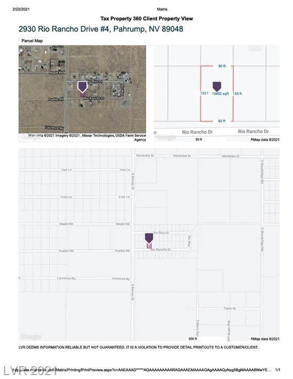 2930 W Rio Rancho Drive #4, Pahrump, NV 89048 (MLS #2273671) :: Lindstrom Radcliffe Group