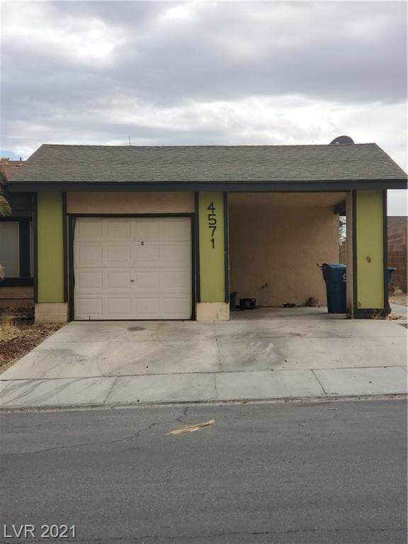 4571 Via Madrigal, Las Vegas, NV 89103 (MLS #2274751) :: Vestuto Realty Group