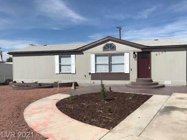 6104 Mount Rainier Avenue, Las Vegas, NV 89156 (MLS #2276275) :: Jeffrey Sabel