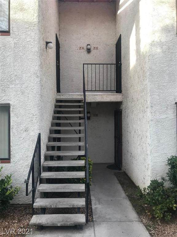 1701 Katie Avenue #20, Las Vegas, NV 89119 (MLS #2277748) :: Signature Real Estate Group