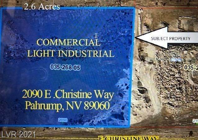 2090 E Christine Way, Pahrump, NV 89060 (MLS #2278751) :: Lindstrom Radcliffe Group