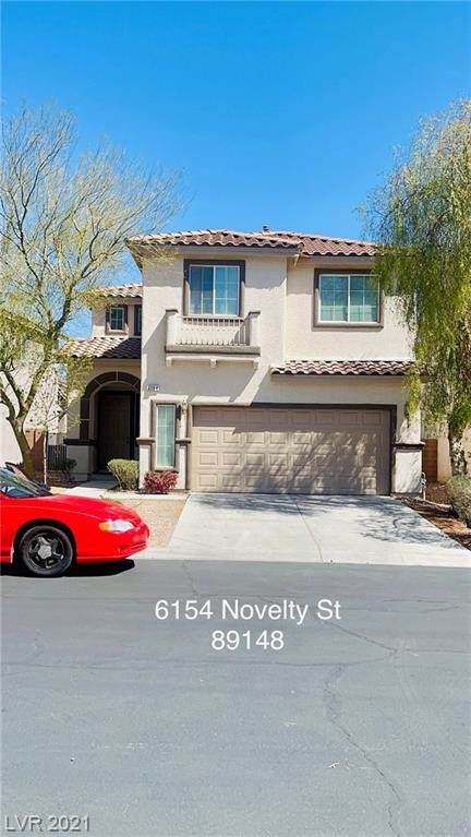 6154 Novelty Street, Las Vegas, NV 89148 (MLS #2283243) :: Billy OKeefe | Berkshire Hathaway HomeServices