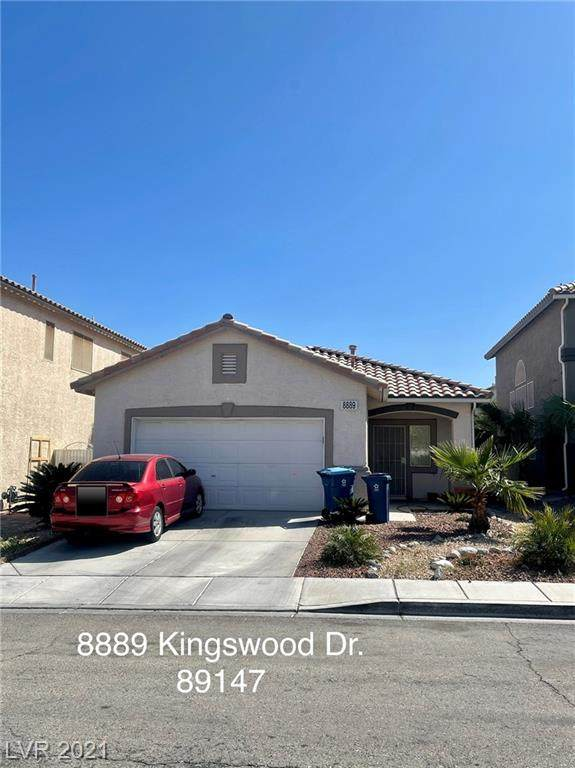 8889 Kingswood Drive, Las Vegas, NV 89147 (MLS #2283434) :: Signature Real Estate Group