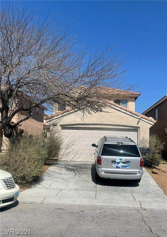 4816 Thackerville Avenue, Las Vegas, NV 89139 (MLS #2283655) :: Signature Real Estate Group