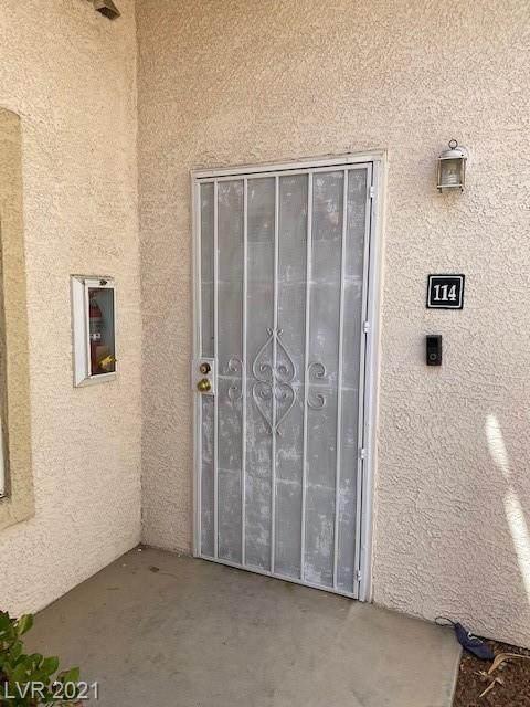 1900 Torrey Pines Drive #114, Las Vegas, NV 89108 (MLS #2285142) :: Signature Real Estate Group