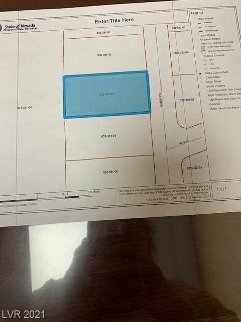 4310 Hondo Avenue, Pahrump, NV 89060 (MLS #2285950) :: Lindstrom Radcliffe Group