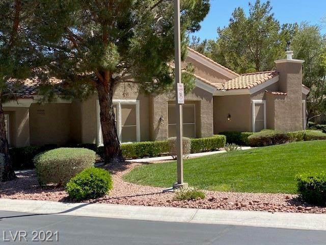10037 Summer Oak Lane #103, Las Vegas, NV 89134 (MLS #2288005) :: Lindstrom Radcliffe Group