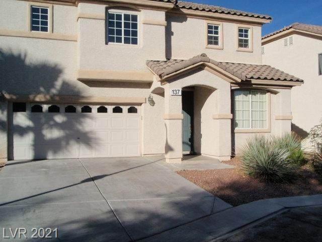 137 Temple Wood Court, Las Vegas, NV 89148 (MLS #2288226) :: Galindo Group Real Estate