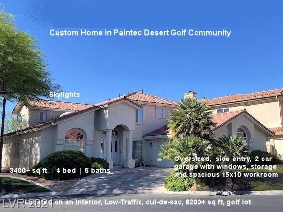 7809 Astral Avenue, Las Vegas, NV 89149 (MLS #2291971) :: Galindo Group Real Estate