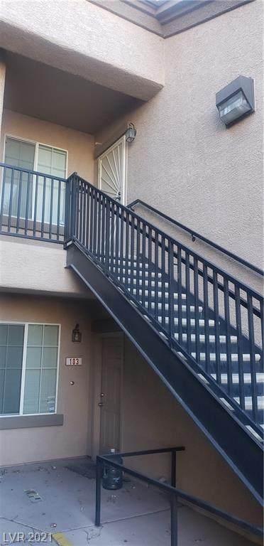 6625 Abruzzi Drive #203, North Las Vegas, NV 89084 (MLS #2292827) :: Signature Real Estate Group