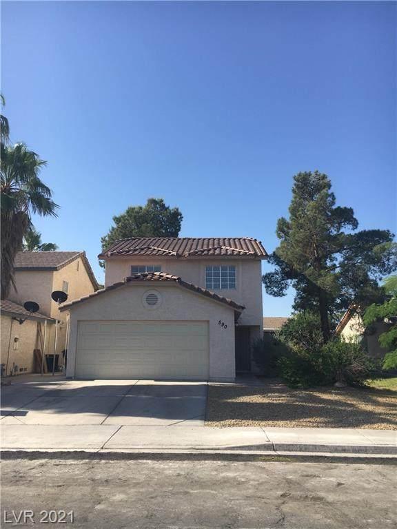 590 Jackson Drive, Henderson, NV 89014 (MLS #2293448) :: Vestuto Realty Group