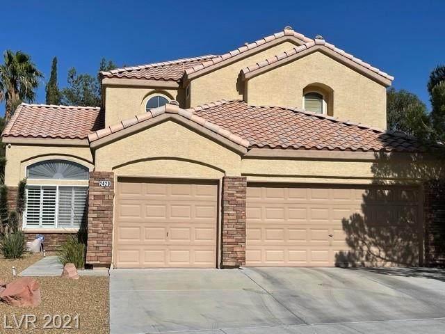 2420 Satellite Beach Drive, Las Vegas, NV 89134 (MLS #2293840) :: Signature Real Estate Group