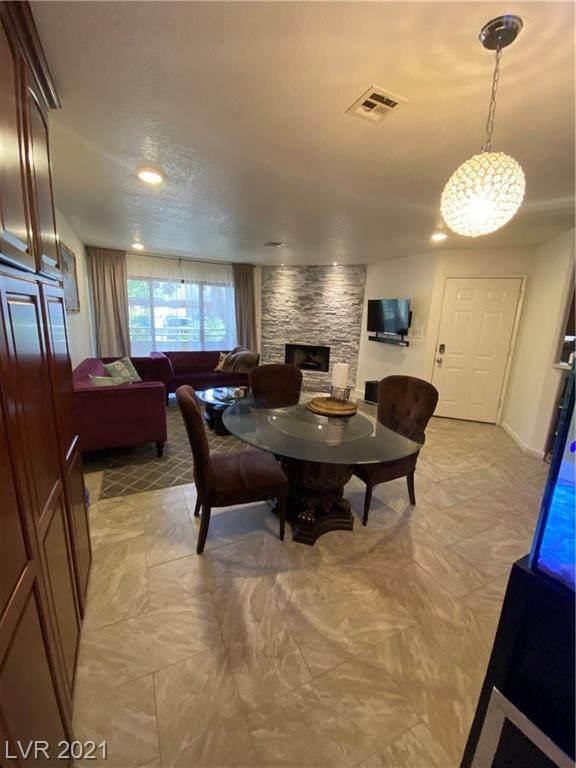 5056 S Rainbow Boulevard #103, Las Vegas, NV 89118 (MLS #2295606) :: Jeffrey Sabel