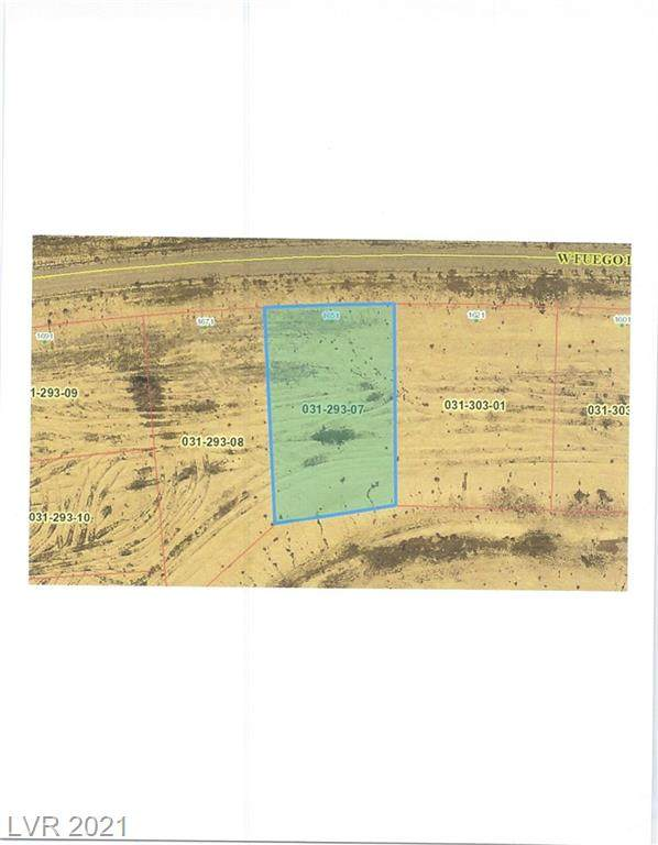1651 W Fuego Lane, Pahrump, NV 89060 (MLS #2295619) :: Jeffrey Sabel