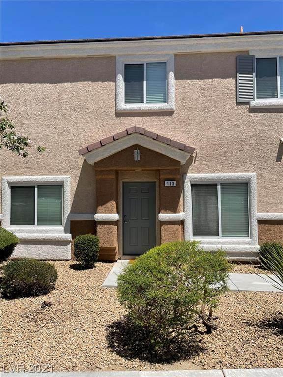8684 Traveling Breeze Avenue #103, Las Vegas, NV 89178 (MLS #2296273) :: The Chris Binney Group | eXp Realty