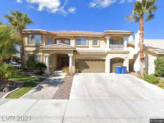 8756 Castle View Avenue, Las Vegas, NV 89129 (MLS #2297133) :: Galindo Group Real Estate