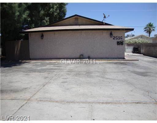 2516 Arrowhead Street, North Las Vegas, NV 89030 (MLS #2297848) :: Galindo Group Real Estate