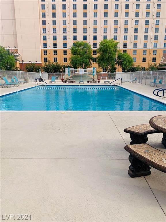205 E Harmon Avenue #905, Las Vegas, NV 89169 (MLS #2298737) :: The Shear Team