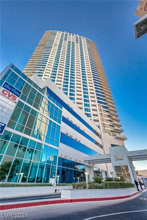 2700 S Las Vegas Boulevard #4105, Las Vegas, NV 89109 (MLS #2300597) :: Jack Greenberg Group