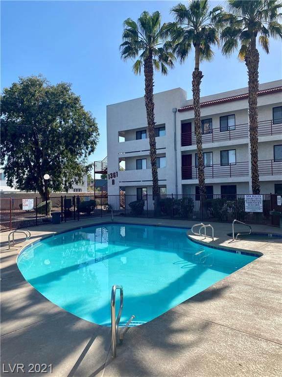 1361 E University Avenue #106, Las Vegas, NV 89119 (MLS #2301834) :: Signature Real Estate Group