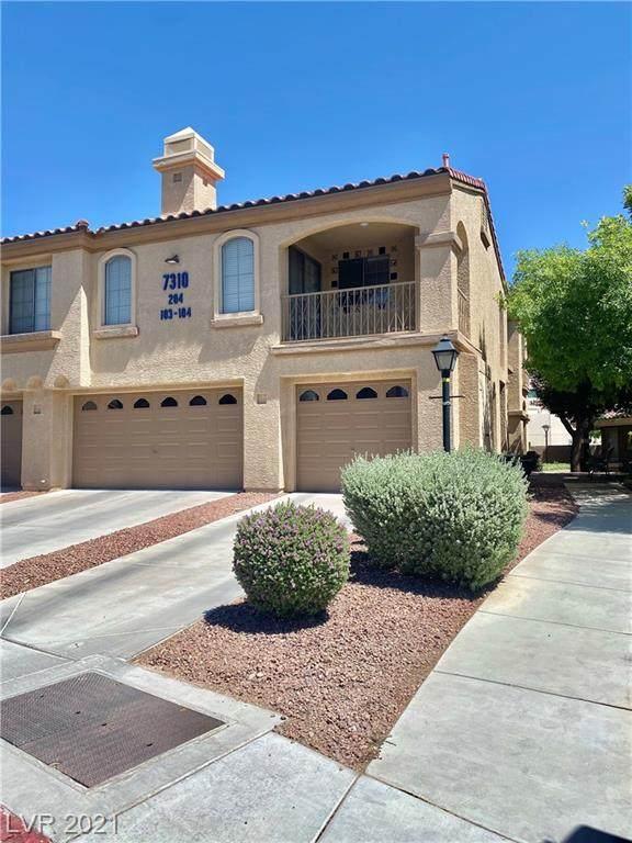 7310 Camrose Ridge Place #104, Las Vegas, NV 89149 (MLS #2302569) :: Galindo Group Real Estate