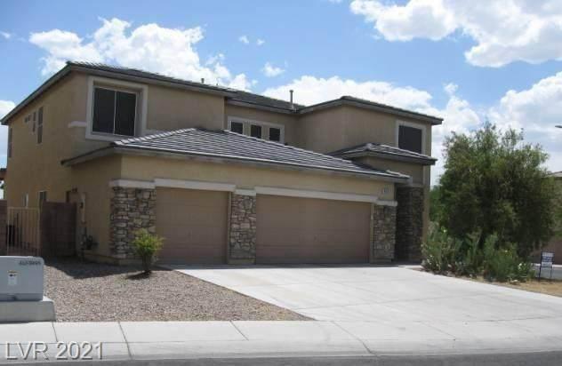 4855 Charlemagne Avenue, Las Vegas, NV 89130 (MLS #2304001) :: The Perna Group