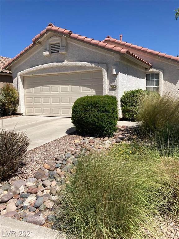 2124 Hidden Ranch Terrace, Henderson, NV 89052 (MLS #2304128) :: Jack Greenberg Group
