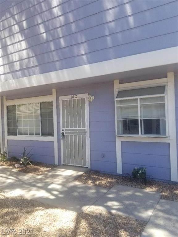 5340 Rod Court #102, Las Vegas, NV 89122 (MLS #2305070) :: Galindo Group Real Estate