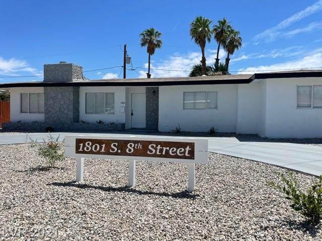 1801 S 8th Street, Las Vegas, NV 89104 (MLS #2305318) :: Custom Fit Real Estate Group