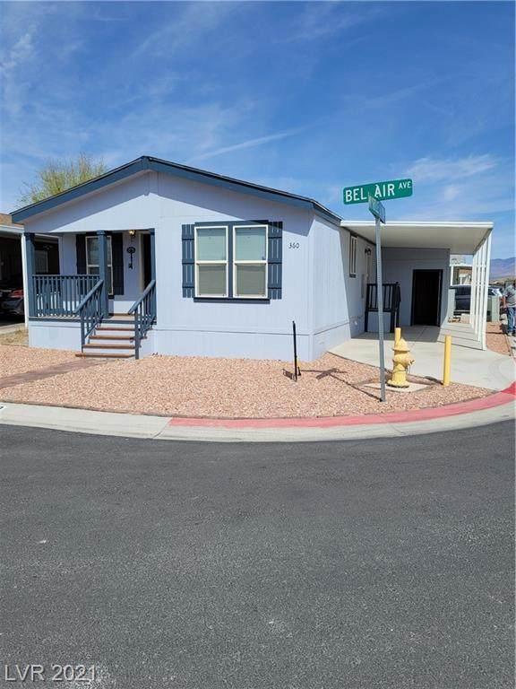 360 Bel Air Avenue, Pahrump, NV 89048 (MLS #2306333) :: Hebert Group | Realty One Group