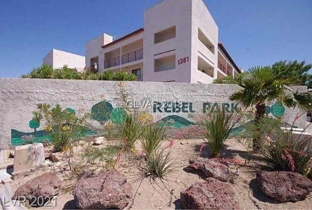 1361 E University Avenue #309, Las Vegas, NV 89119 (MLS #2306642) :: Signature Real Estate Group