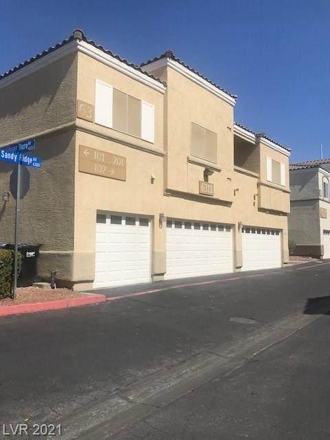 6313 Sandy Ridge Street #102, North Las Vegas, NV 89081 (MLS #2312826) :: ERA Brokers Consolidated / Sherman Group