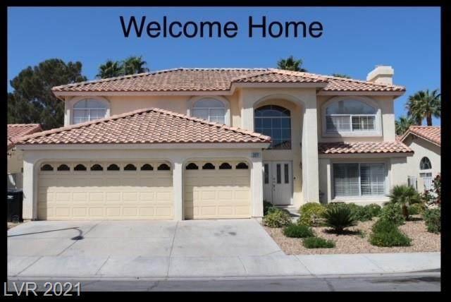 227 Hollyfern Street, Henderson, NV 89074 (MLS #2313801) :: Signature Real Estate Group