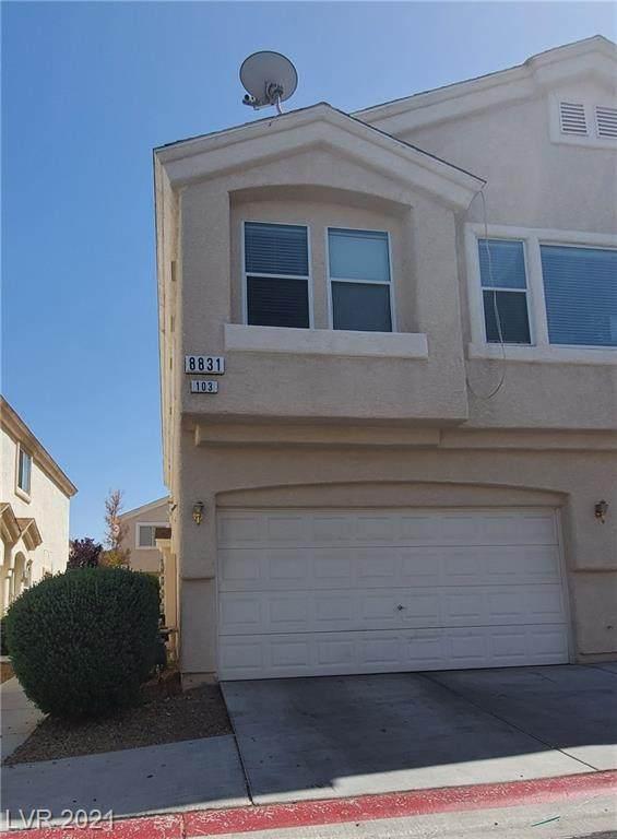 8831 Roping Rodeo Avenue #103, Las Vegas, NV 89178 (MLS #2314619) :: Alexander-Branson Team | Realty One Group