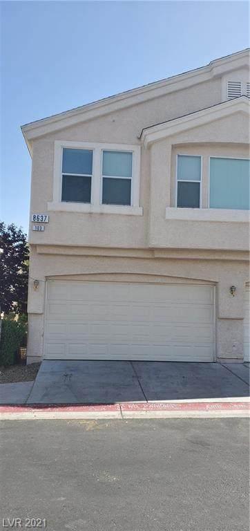 8637 Roping Rodeo Avenue #103, Las Vegas, NV 89178 (MLS #2314631) :: Alexander-Branson Team | Realty One Group