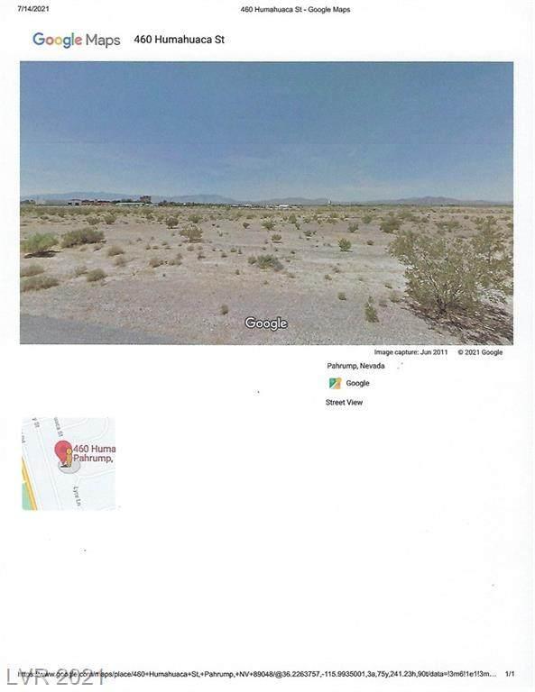 460 N Humahuaca Street, Pahrump, NV 89060 (MLS #2314912) :: Keller Williams Realty