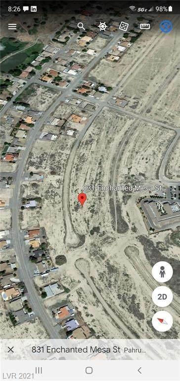 831 S Enchanted Mesa Street, Pahrump, NV 89048 (MLS #2317494) :: Jeffrey Sabel
