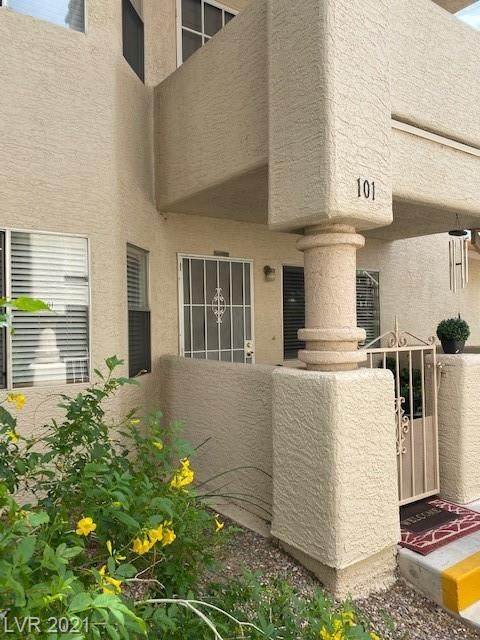 905 Rockview Drive #101, Las Vegas, NV 89128 (MLS #2319159) :: Kypreos Team