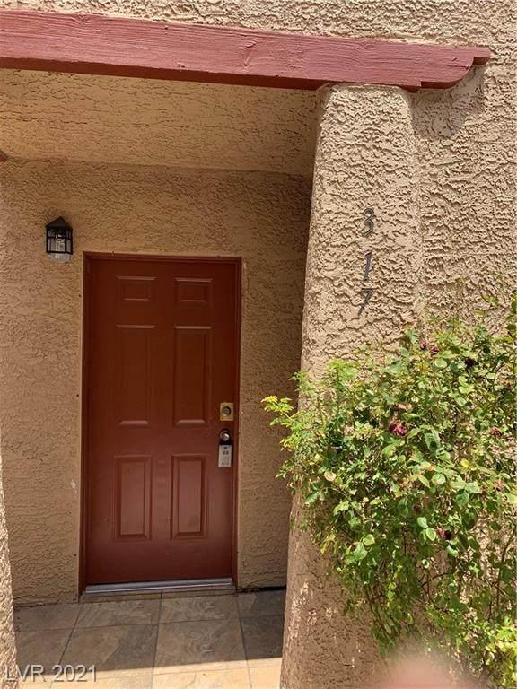 4251 Sanderling Circle #317, Las Vegas, NV 89103 (MLS #2319717) :: The Perna Group