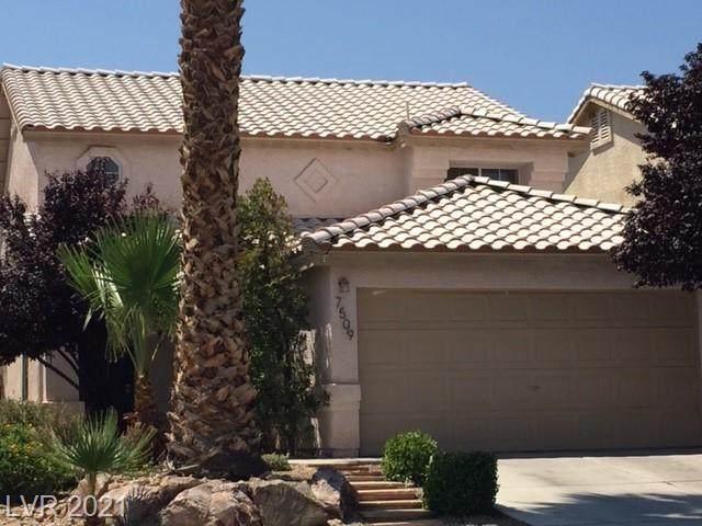 7509 Maiden Run Avenue, Las Vegas, NV 89130 (MLS #2320241) :: Lindstrom Radcliffe Group