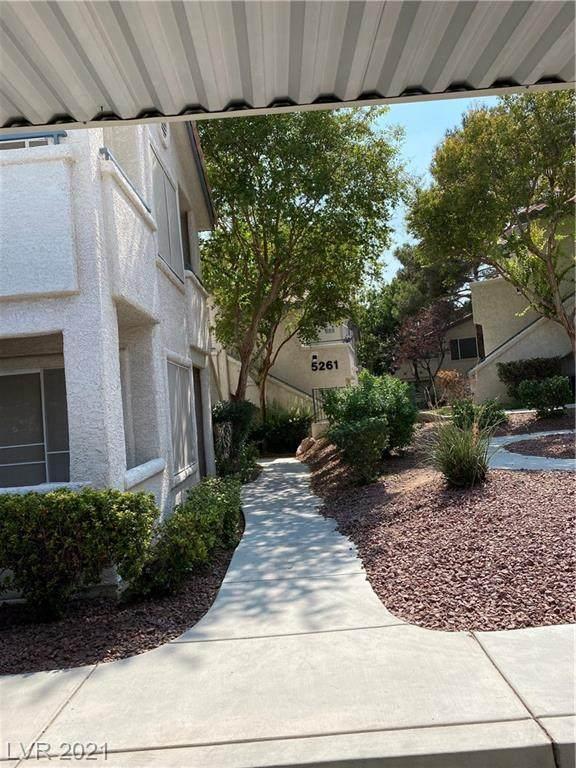 5259 Caspian Springs Drive #101, Las Vegas, NV 89120 (MLS #2328194) :: Alexander-Branson Team | Realty One Group